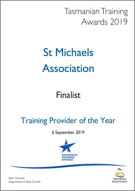 st michaels training provider of the year